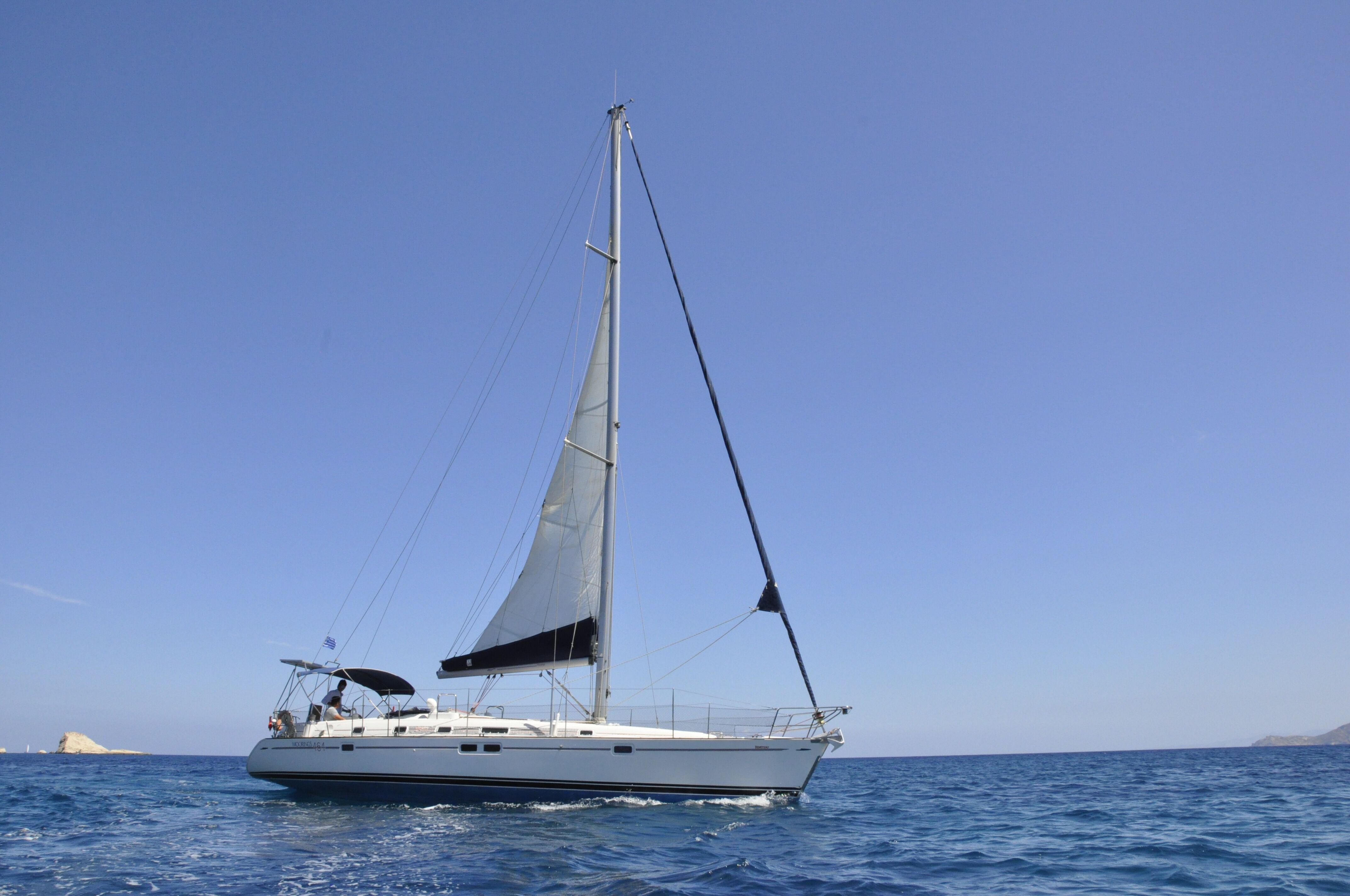 Day trip with sail yacht around Milos to Kleftiko from Pollonia (max 10people)